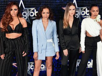 Little Mix - The Global Awards 2018 - Arrivals