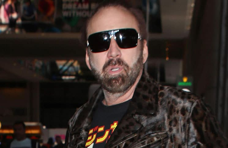 Nicolas Cage Sighted at LAX Airport in Los Angeles on September 18, 2018