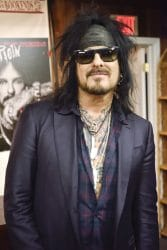 """Nikki Sixx """"The Heroin Diaries: A Year in the Life of a Shattered Rock Star"""" Book Signing at Bookends in Ridgewood"""