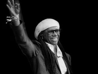 Nile Rodgers - CHIC at Glastonbury 2017 by Jill Furmanovsky