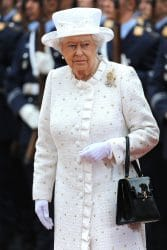 Queen Elizabeth II Visits Berlin on June 24, 2015
