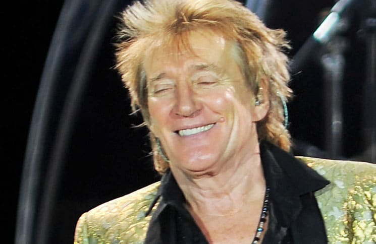 Rod Stewart in Concert at Liverpool Echo Arena - December 18, 2016