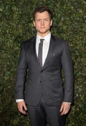 Taron Egerton - 2018 Pre-BAFTA Film Awards Chanel & Charles Finch Party