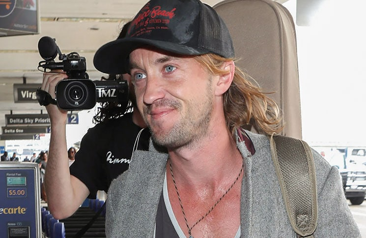 Tom Felton Sighted at LAX Airport in Los Angeles on September 27, 2018