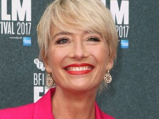 Emma Thompson - 61st BFI London Film Festival