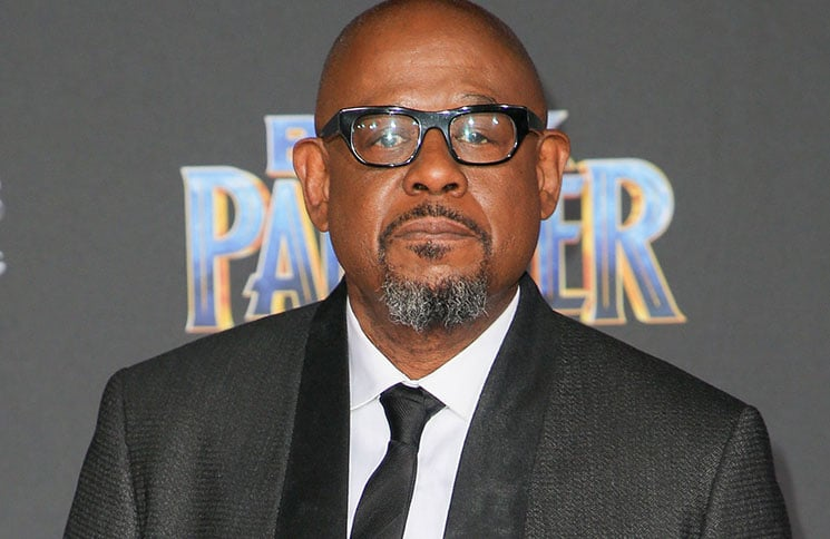 """Forest Whitaker - Disney and Marvel's """"Black Panther"""" World Premiere"""