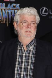 "George Lucas - Disney and Marvel's ""Black Panther"" World Premiere"