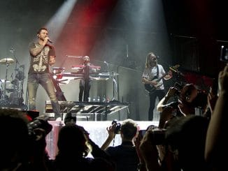 Maroon 5 in Concert at the Barclaycard Center in Madrid - June 15, 2015