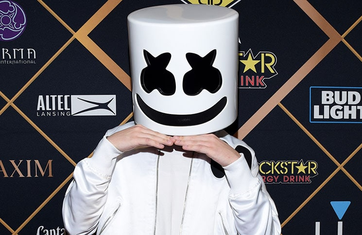 Marshmello - 2018 Maxim Super Bowl LII Party