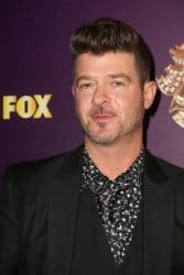 "Robin Thicke - Fox's ""The Masked Singer "" TV Series Premiere Karaoke Event"