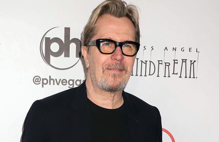 "Gary Oldman - Criss Angel ""Mindfreak"" Grand Opening Celebration Gala at Planet Hollywood Resort & Casino"
