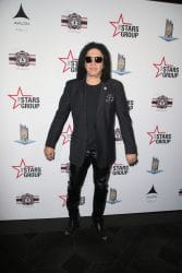 Gene Simmons - 2018 LAPMF Heroes for Heroes Celebrity Poker Tournament & Casino Night Party