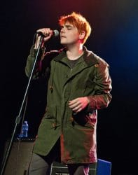 Gerard Way in Concert at Radio 104.5's Gerard Way Sound Check Party at The Trocadero Theatre in Philadelphia - October 17, 2014
