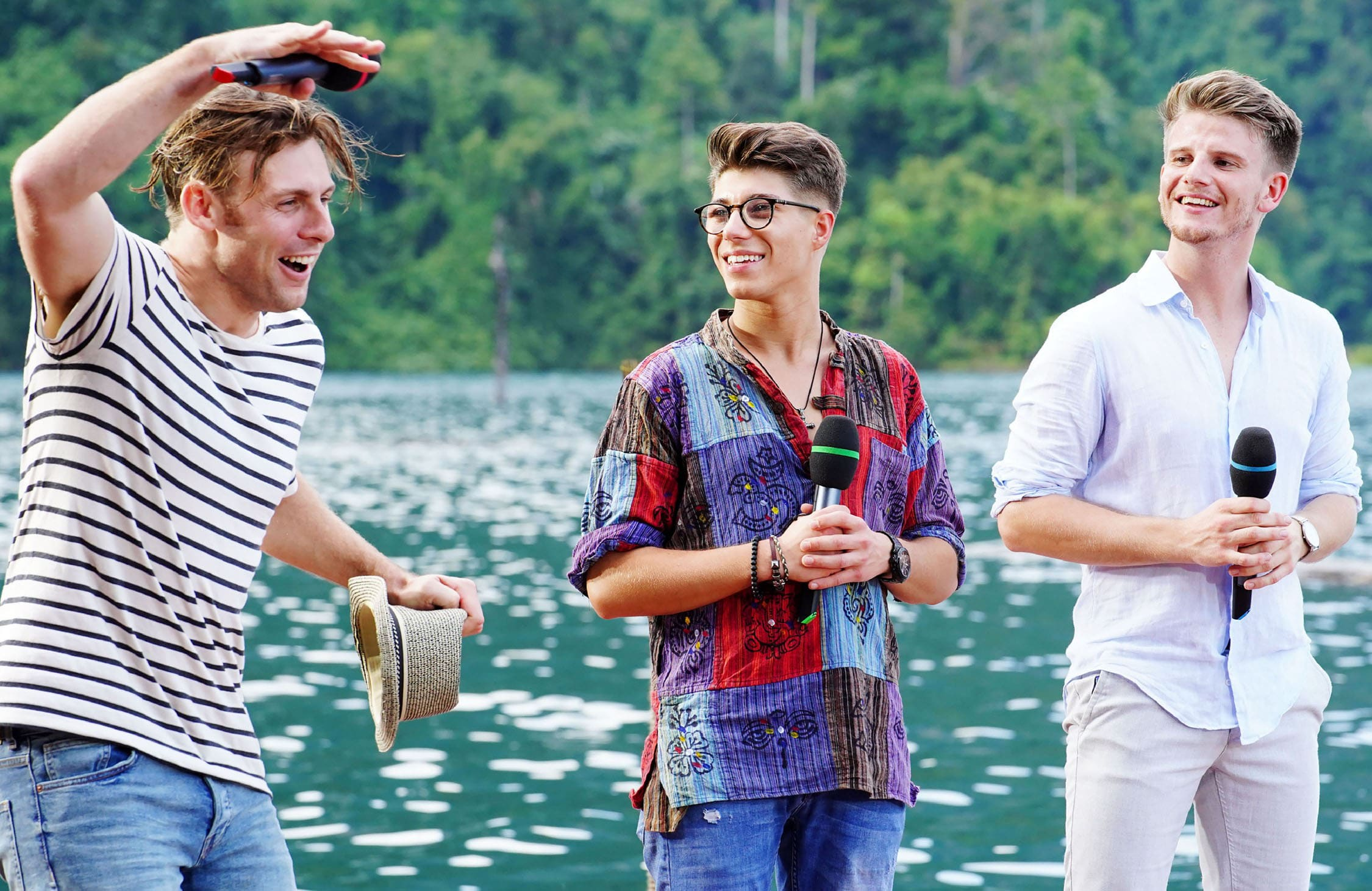 Nick Ferretti, Davin Herbrüggen, Lukas Kepser - Deutschland sucht den Superstar