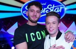Momo Chahine (l.) und Jonas Weisser - Deutschland sucht den Superstar