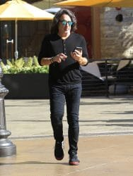Paul Stanley Sighted Shopping in Hollywood on November 28, 2017