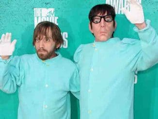 The Black Keys - 2012 MTV Movie Awards - Arrivals