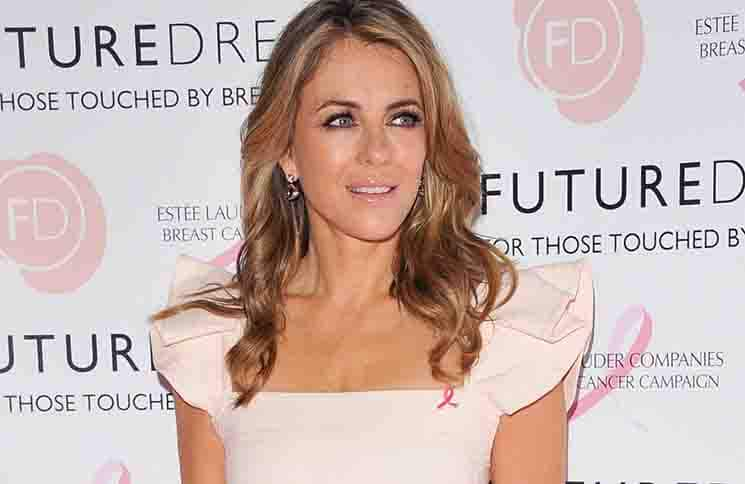 "Elizabeth Hurley - Future Dreams ""United for Her"" Ladies Lunch 2017"