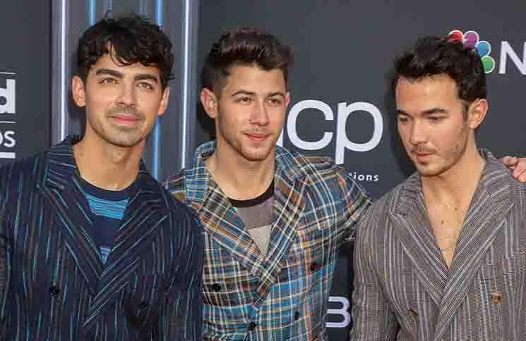 Jonas Brothers - 2019 Billboard Music Awards - Arrivals