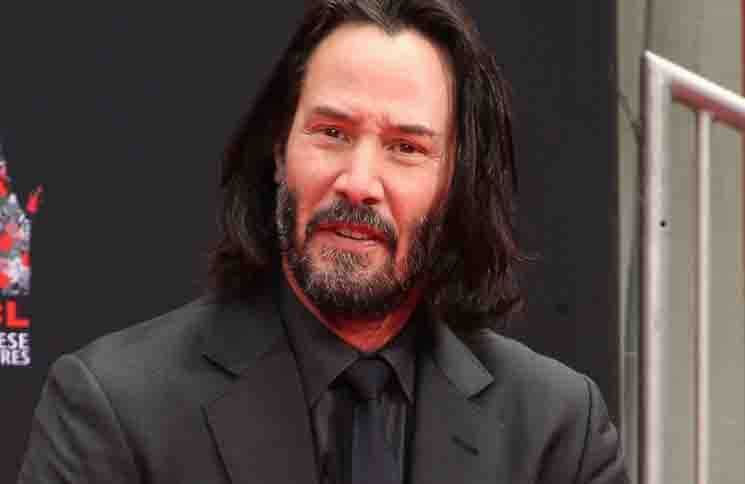 Keanu Reeves Hand and Footprint Ceremony at the TCL Chinese Theatre IMAX Forecourt