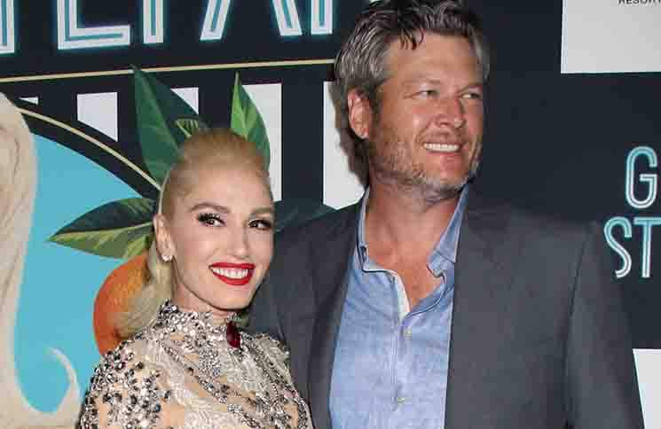 "Gwen Stefani, Blake Shelton - ""Gwen Stefani - Just A Girl"" Residency Grand Opening at Planet Hollywood"