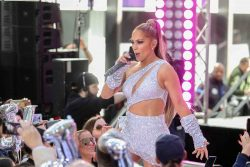 """Jennifer Lopez in Concert on NBC's """"Today"""" Show Citi Concert Series at Rockefeller Plaza in New York City - May 6, 2019"""