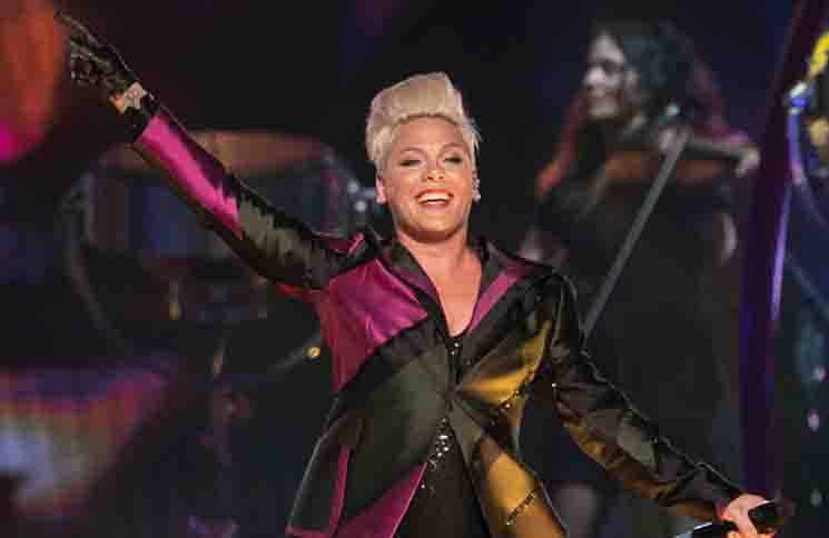 Pink in Concert at the Little Caesar's Arena in Detroit - April 26, 2019