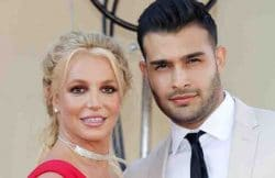 """Britney Spears, Sam Asghari - """"Once Upon A Time In Hollywood"""" Los Angeles Premiere"""