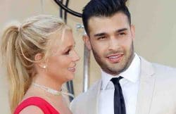 """Britney Spears, Sam Asghari - """"Once Upon A Time In Hollywood"""" Los Angeles Premiere - Arrivals"""