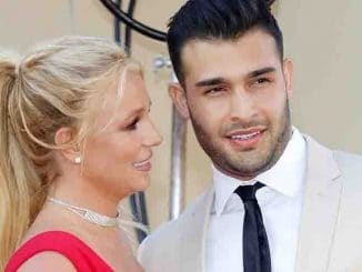 "Britney Spears, Sam Asghari - ""Once Upon A Time In Hollywood"" Los Angeles Premiere - Arrivals"
