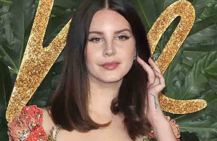 Lana Del Rey - The Fashion Awards 2018 in Partnership with Swarovski