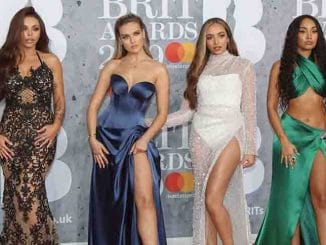 Little Mix - BRIT Awards 2019 - Arrivals