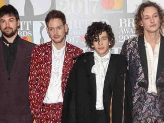 The 1975 - BRIT Awards 2017 - Arrivals