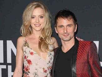 Elle Evans, Matt Bellamy - Saint Laurent at the Palladium - Arrivals