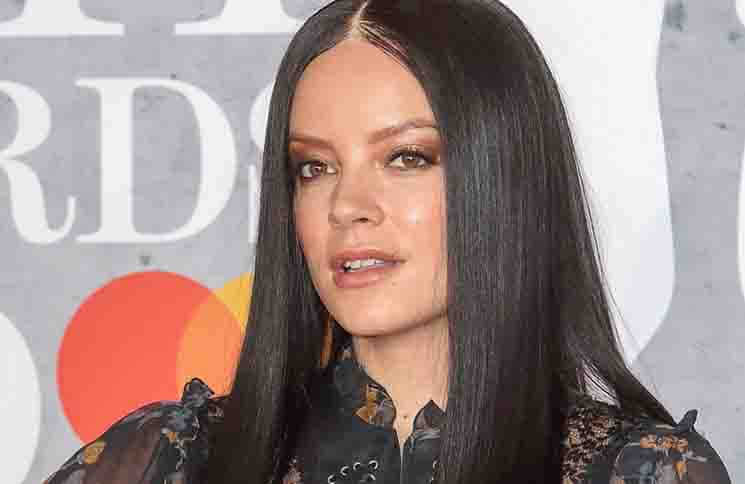 Lily Allen - BRIT Awards 2019 - Arrivals - The O2, Peninsula Square