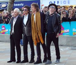 "Charlie Watts, Ronnie Wood, Mick Jagger and Keith Richards - ""The Rolling Stones: Exhibitionism"" Opening Night Gala Private View"