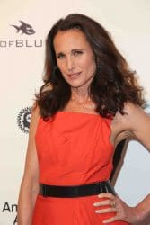Andie MacDowell - 25th Annual Elton John AIDS Foundation's Academy Awards Viewing Party