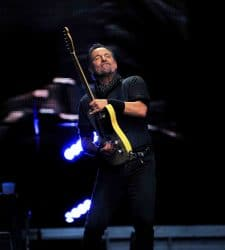 Bruce Springsteen in Concert at Etihad Stadium in Manchester - May 25, 2016