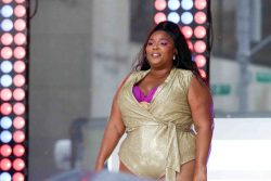 """Lizzo in Concert on NBC's """"Today"""" Show Citi Concert Series at Rockefeller Plaza in New York City - August 23, 2019"""