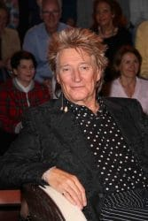 "Rod Stewart Visits the ""Markus Lanz Late Show"" TV Show in Hamburg on March 27, 2019"