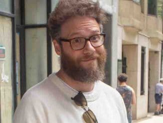 Seth Rogen Sighted at BuzzFeed's AM to DM Studio on June 21, 2018