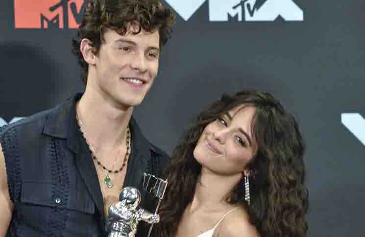 Shawn Mendes & Camila Cabello - 2019 MTV Video Music Awards - Press Room