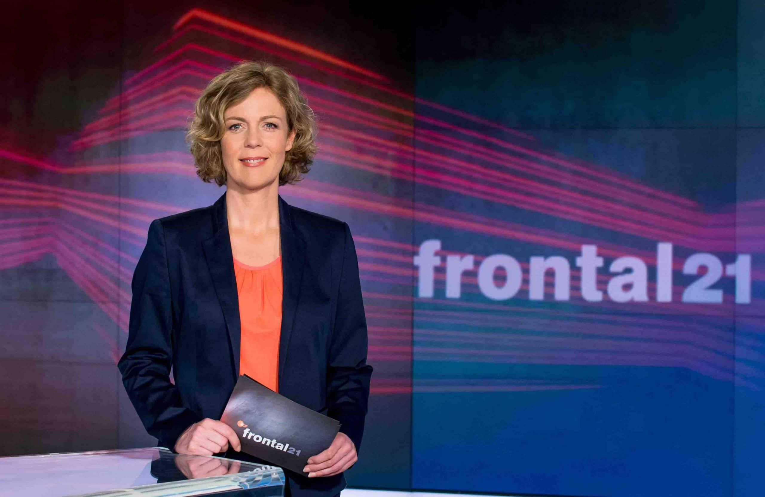 "Ilka Brecht - ZDF-Magazin ""Frontal 21"""