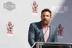 Ben Affleck - Kevin Smith And Jason Mewes Hands And Footprint Ceremony