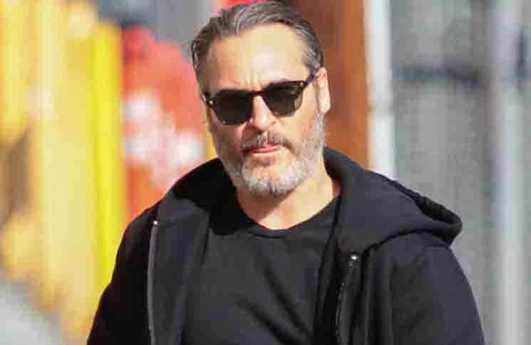 Joaquin Phoenix - Celebrity Sightings in Los Angeles on October 1, 2019 - Studio Lot
