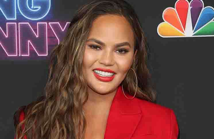 "Chrissy Teigen - NBC's ""Bring the Funny"" TV Series Premiere"