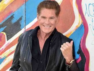 "David Hasselhoff - ""Up Against the Wall - Mission Mauerfall"" Audiobook Berlin Photo Call"