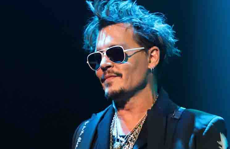 Johnny Depp - Hollywood Vampires in Concert at The Joint in Las Vegas - May 10, 2019