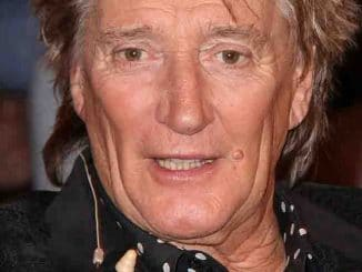 """Rod Stewart Visits the """"Markus Lanz Late Show"""" TV Show in Hamburg on March 27, 2019"""