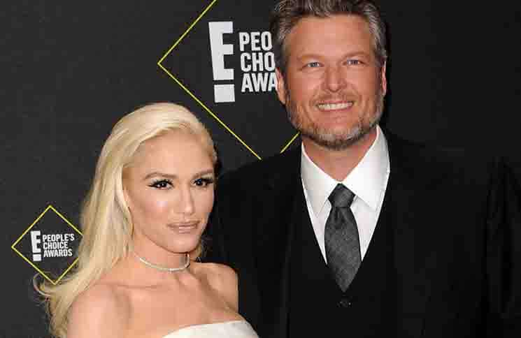 Blake Shelton, Gwen Stefani - 2019 E! People's Choice Awards